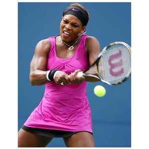 Serena Williams 2009 US Open Nike Dress XS